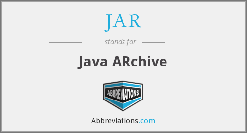 JAR - Java ARchive