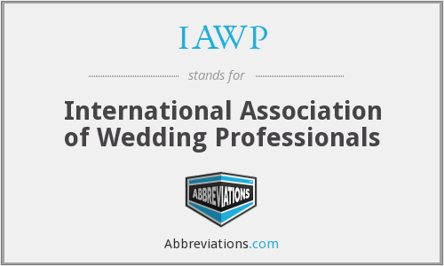 IAWP - International Association of Wedding Professionals