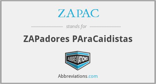 ZAPAC - ZAPadores PAraCaidistas
