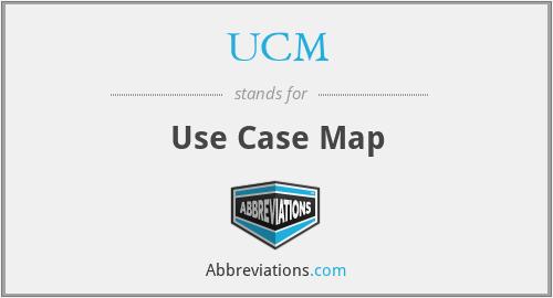 UCM - Use Case Map