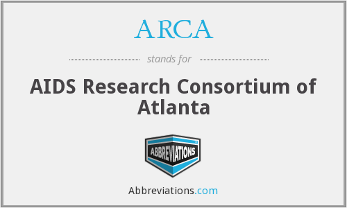 ARCA - AIDS Research Consortium of Atlanta