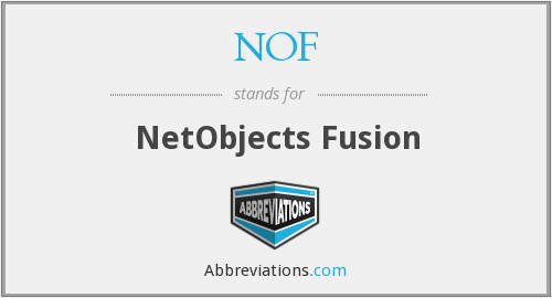 NOF - NetObjects Fusion