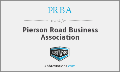 What does PRBA stand for?