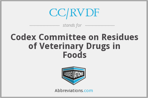 What does CC/RVDF stand for?