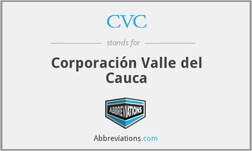 CVC - Corporación Valle del Cauca