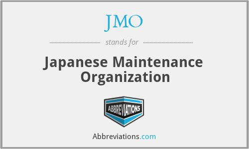 JMO - Japanese Maintenance Organization