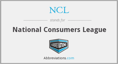 NCL - National Consumers League