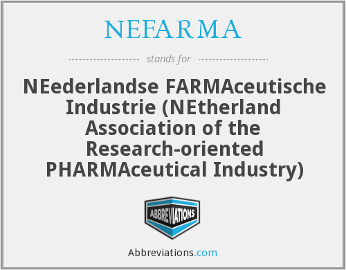 What does NEFARMA stand for?