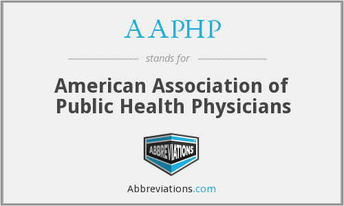 AAPHP - American Association of Public Health Physicians