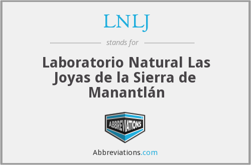 What does LNLJ stand for?