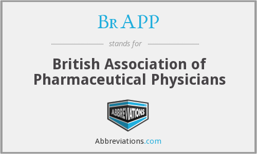 BrAPP - British Association of Pharmaceutical Physicians