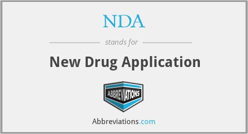 NDA - New Drug Application