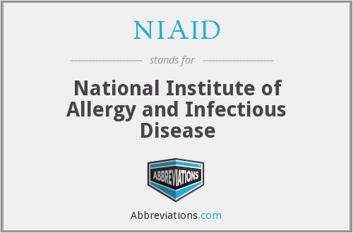 NIAID - National Institute of Allergy and Infectious Disease