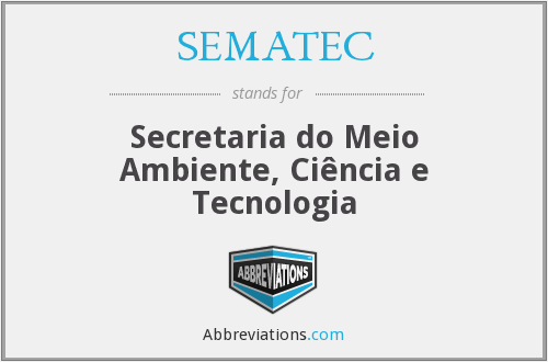 What does SEMATEC stand for?