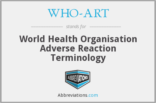 What does WHO-ART stand for?
