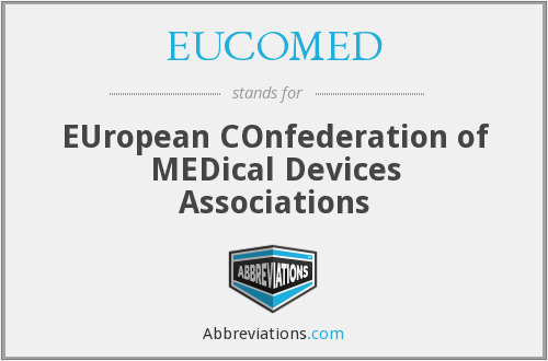 EUCOMED - EUropean COnfederation of MEDical Devices Associations