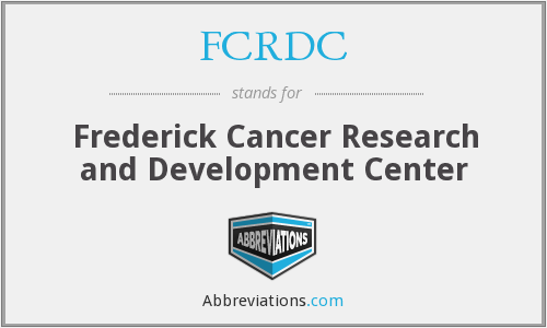 What does FCRDC stand for?