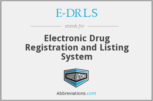 What does E-DRLS stand for?