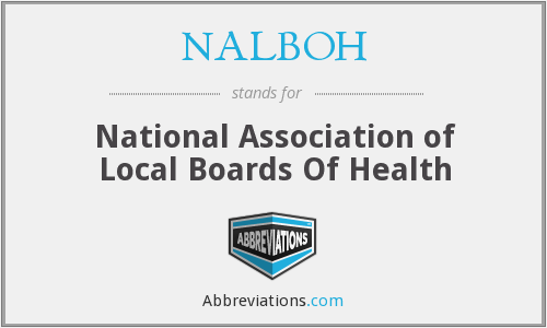 NALBOH - National Association of Local Boards of Health