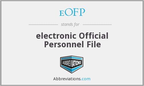 What does EOFP stand for?