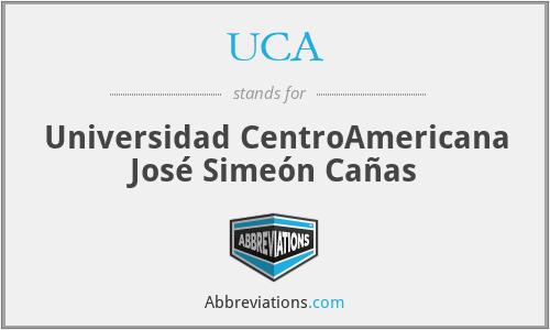 UCA - Universidad CentroAmericana José Simeón Cañas