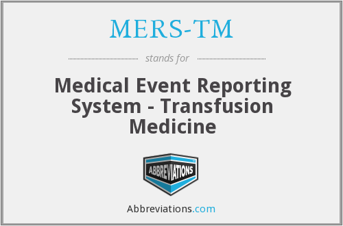 What does MERS-TM stand for?