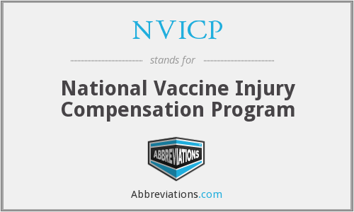 NVICP - National Vaccine Injury Compensation Program
