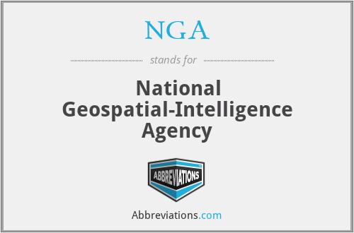 NGA - National Geospatial-Intelligence Agency