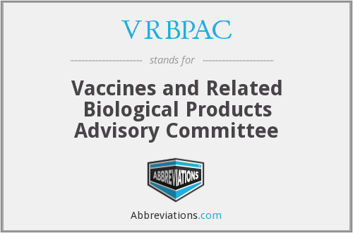 What does VRBPAC stand for?