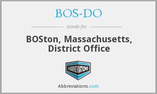 What does BOS-DO stand for?