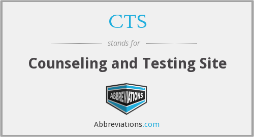 CTS - Counseling and Testing Site
