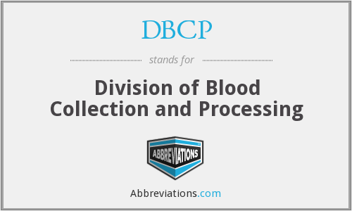What does DBCP (CBER) stand for?
