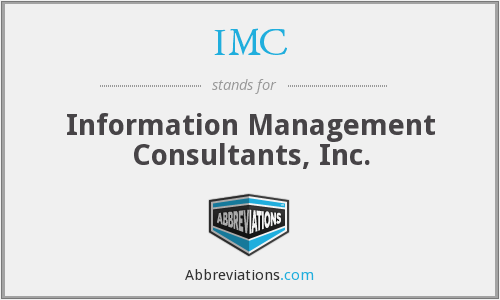 IMC - Information Management Consultants, Inc.