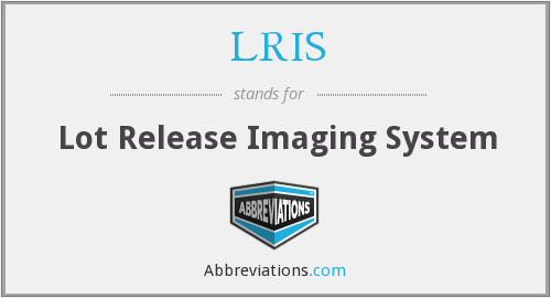 What does LRIS stand for?