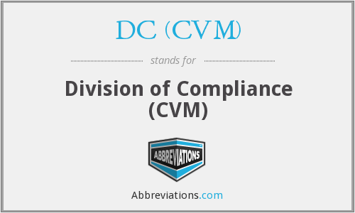 What does DC (CVM) stand for?