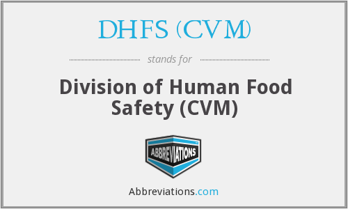 What does DHFS (CVM) stand for?