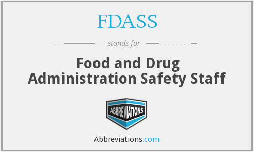 What does FDASS stand for?