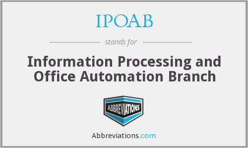 What does IPOAB stand for?