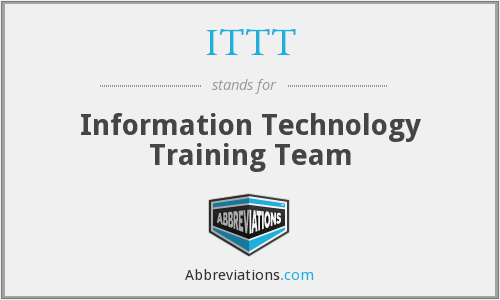 ITTT - Information Technology Training Team