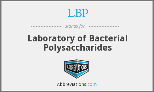 LBP - Laboratory of Bacterial Polysaccharides