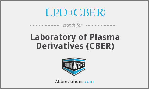 What does LPD (CBER) stand for?
