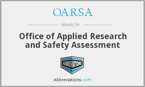 What does OARSA stand for?