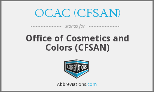 OCAC (CFSAN) - Office of Cosmetics and Colors (CFSAN)