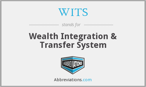 WITS - Wealth Integration & Transfer System