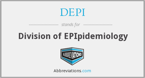 DEPI - Division of EPIpidemiology