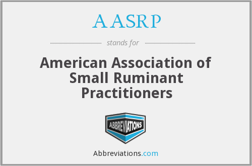 AASRP - American Association of Small Ruminant Practitioners