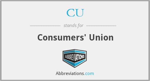 CU - Consumers' Union