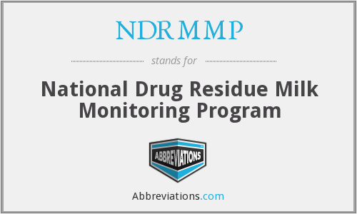 What does NDRMMP stand for?