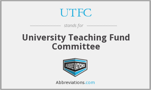 UTFC - University Teaching Fund Committee
