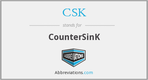 What is the abbreviation for CounterSinK?